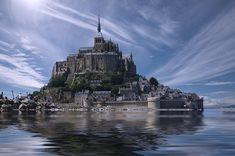 Feste Wahrheiten gleichen einer Festung, die permanent verteidigt werden muss. Mont Saint-Michel