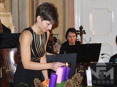 A Sárvári Vonósok adventi koncertje a Nádasdy Ferenc Múzeum dísztermében. Advent