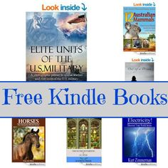 Free Kindle Book List: Elite Units Of The U.S. Military, Horses, Electricity, and More