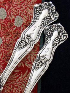 Old Silver Flatware Patterns | 1904 Vintage (1847 Rogers Bros.)