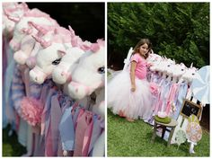 Such a sweet unicorn party. This blog is full of ideas. What a lucky little girl. Party Inspirations: Lucia's Unicorn party by Cakes by Sharon