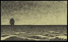 John Kenn was born in Denmark. He writes and directs TV shows for kids, but in his sparetime he makes this amazing, creepy illustrations on Post-it notes. [via FlipFlopBlog]
