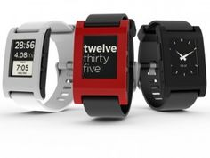 """Pebble: a """"smart watch"""" with eInk screen will be released this fall."""