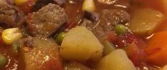 Old-Fashioned Vegetable Beef Soup Recipe - Genius Kitchen