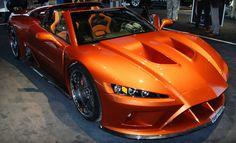 2012 Falcon F7 Supercar unveiled at the    Detroit Motor show.