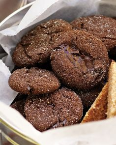 Double-Chocolate Brownie Bites - Martha Stewart Recipes