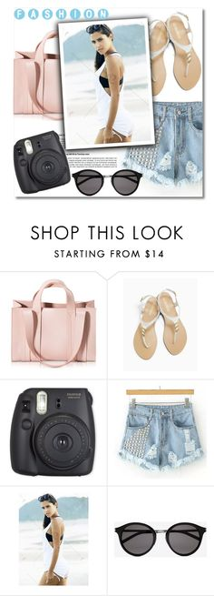 """""""#48"""" by aida-nurkovic ❤ liked on Polyvore featuring Corto Moltedo, OLIVIA MILLER and Yves Saint Laurent"""