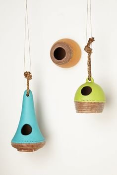 pine & clay bird shelter by chaka inc. from anthropologie
