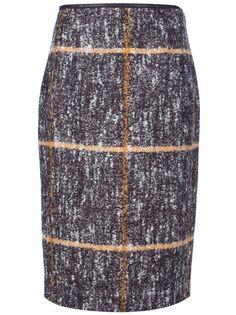 MISSONI Checked Knit Skirt