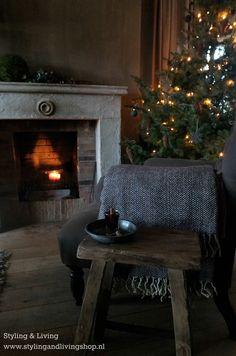 Sobere, landelijke kerst Styling & Living  www.stylingandlivingshop.nl