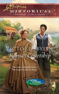 Kansas Courtship (After the Storm: The Founding Years) (Love Inspired Historical) by Victoria Bylin http://smile.amazon.com/dp/0373828314/ref=cm_sw_r_pi_dp_ynKvvb0YQA39G