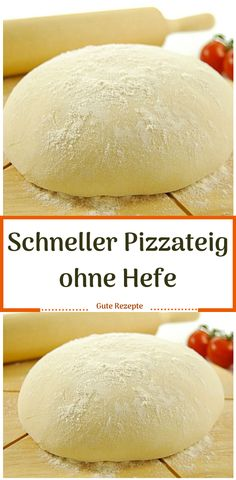 Fast pizza dough without yeast – Rezepte Recipes Using Ham, Recipe Using, Best Pizza Dough, Good Pizza, Pizza Hut, Best Homemade Pizza, Sourdough Pizza, Pampered Chef, Dough Recipe