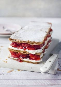 Strawberry mille-feuille♥♥♥♥♥