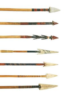karuk  arrows   Need Hupa/Yurok examples in Flintknapping - General Discussion Forum