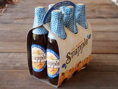 Snapple Packaging Redesign by Mai K. Nguyen, via Behance