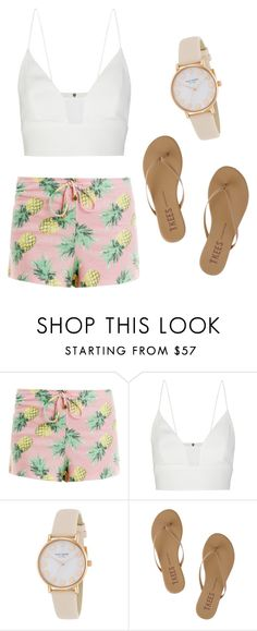 """""""Untitled #252"""" by kenzie-raye13 on Polyvore featuring Wildfox, Narciso Rodriguez, Kate Spade and Tkees"""