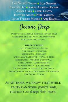 Available June 2014 only~ Ocean Day, June 8, Oceans Of The World, Romance Novels, Books, Libros, Book, Book Illustrations, Romance Books