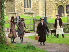 Curiouser and Curiouser: Downton Abbey Returns to Bampton for Season Five