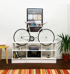 Design chileno Chol1 - linha de móveis exclusiva com encaixes para bicicletas.