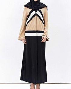 Abaya originale asymétrique