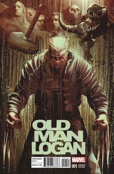 "mikedeodatojr: ""OLD MAN LOGAN #1 Colors by Frank Martin """