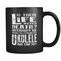 Don't Interrupt Me - Ukulele Mug - MainTune - 1