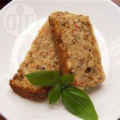Bolo vegetariano de lentilha @ allrecipes.com.br