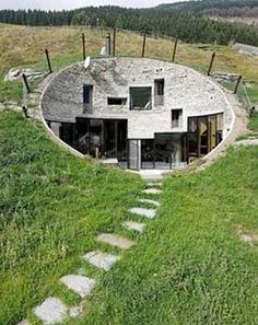 My absolute ultimate dream home..more than any decor or attribute..is an earth sheltered home completely off the grid.