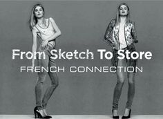 On Wednesday 18 September 2013, we will be giving people all over the UK the chance to be part of a private French Connection Sketch To Store Style Challenge.  Lucky hosts will get to invite four friends to their nearest French Connection store to take part in our official Sketch To Store Style Challenge.