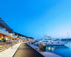 Port Adriano Marina, Mallorca. Spain. Desing Philippe Starck