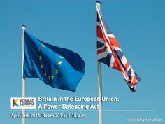 As part of the English Week, the Business School Faculty invites you to join today's conference Britain in the European Union: A Power Balancing Act at 6:15 p.m in the room 201. ¡Learn, practice and use your english skills!  For more activities click here: http://uklz.info/IEWeek-2014