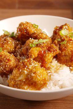 Best General Tso Cauliflower Recipe-How To Make General Tso Cauliflower—Delish.com