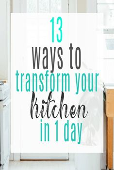 Transform Your Kitchen In One Day with these super simple kitchen design and decor hacks - perfect for a speedy kitchen makeover Life On A Budget, Family Budget, Beautiful Space, Beautiful Homes, Simple Kitchen Design, Pantry Design, Kitchen Ware, Declutter Your Home, Pantries