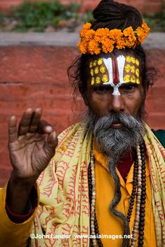 In Hinduism, a sadhu is a common term for an ascetic or yogi who has given up pursuit of the first three Hindu goals of life: kama (enjoymen...
