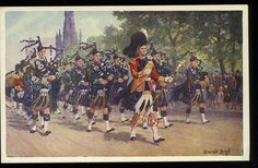 PIPES AND DRUMS OF THE SEAFORTH HIGHLANDERS