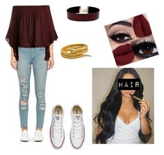 """""""#princesa"""" by queen-sanja on Polyvore featuring Cheap Monday, Sans Souci, Converse and Vanessa Mooney"""