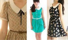 Como hacer un vestido vintage con cuello peter pan06