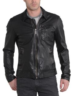 Mens Lambskin Leather Jacket---------https://www.ryanlifestyle.com/collections/men-leather-jacket/products/rlblk519?variant=34885179790------------Price:129.99