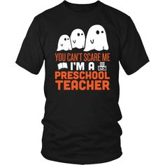 Preschool Teacher - Halloween Ghost