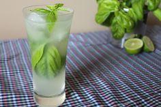 Mixologie : Limonade vodka et basilic