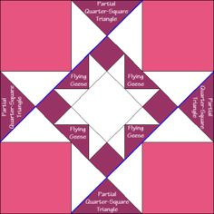 Rhode Island Quilt Block Diagram Free Pattern at QuiltTherapy.com!