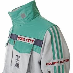 Xile Clothing - Adidas Star Wars Tracktops: ADIDAS STAR WARS - BOBA FETT TRACK TOP (9653)