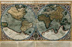 World Map by Gerardus Mercator