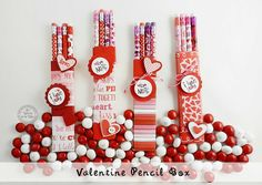 Tutorial is up on our blog for this  Cute Valentine's Day Pencil Boxes for Kids, Classroom Gifts #Crafts