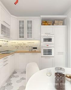 Kitchen Furniture, Kitchen Interior, Interior Design Living Room, Kitchen Decor, Kitchen Design, Furniture Design, Beautiful House Plans, Kitchen Stories, Stylish Bedroom