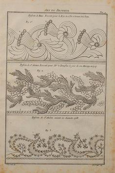 Charles Germain de Saint-Aubin. L' Art du brodeur. Imp. FD Delatour, 1770.