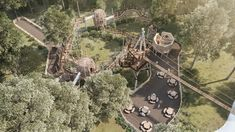 Co has unveiled its latest project, a new wilderness adventure play area called Skelf Island at Castle Howard, in North Yorkshire, UK. University Of Sussex, Castle Howard, Leeds Castle, Playground Design, In The Tree, North Yorkshire, Great Lakes, New Adventures, The Locals
