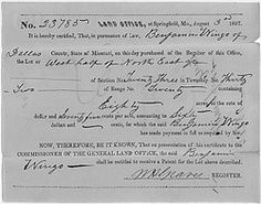 Land Records  http://www.archives.gov/research/land/index.html