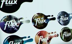 Flux (TV Network Identity Design) by Craig Pinto, via Behance