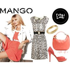 Fashion in Motion with MANGO,  Polyvore